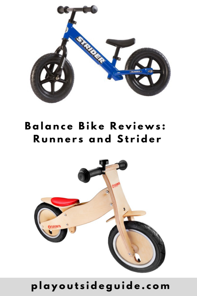 Balance Bike Reviews Pinterest pin