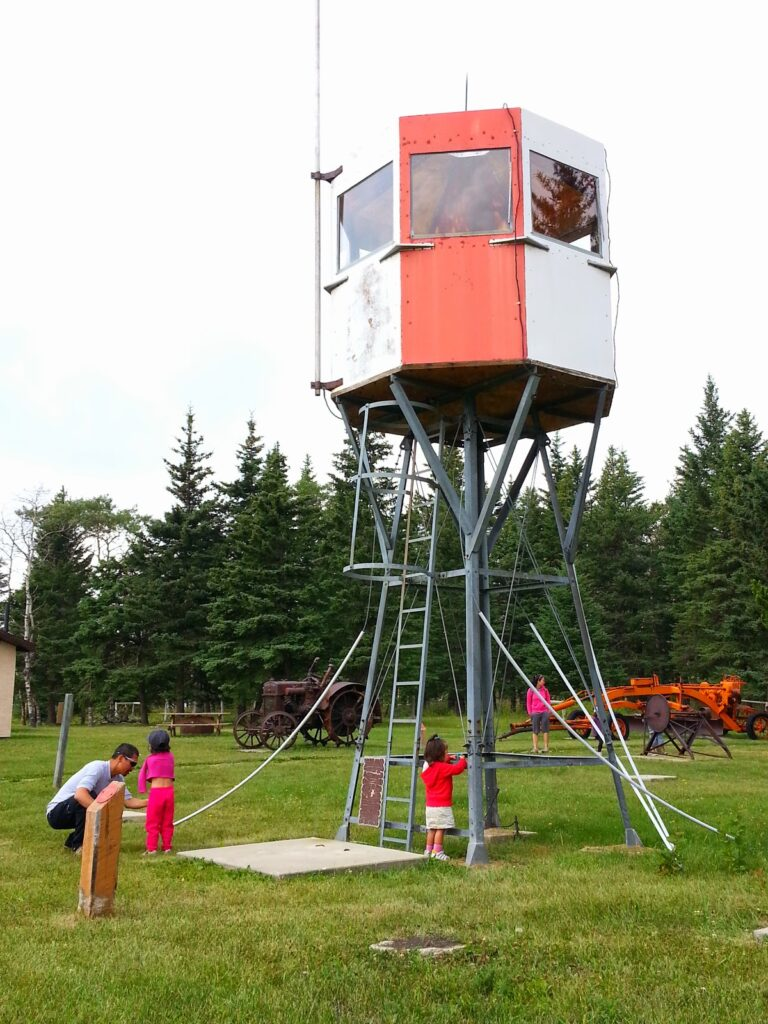 Fire Lookout at Tom Trott Memorial Forestry Museum