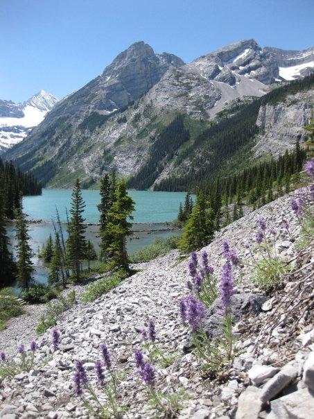 Lower Elk Lake, Elk Lakes Provincial Park, BC