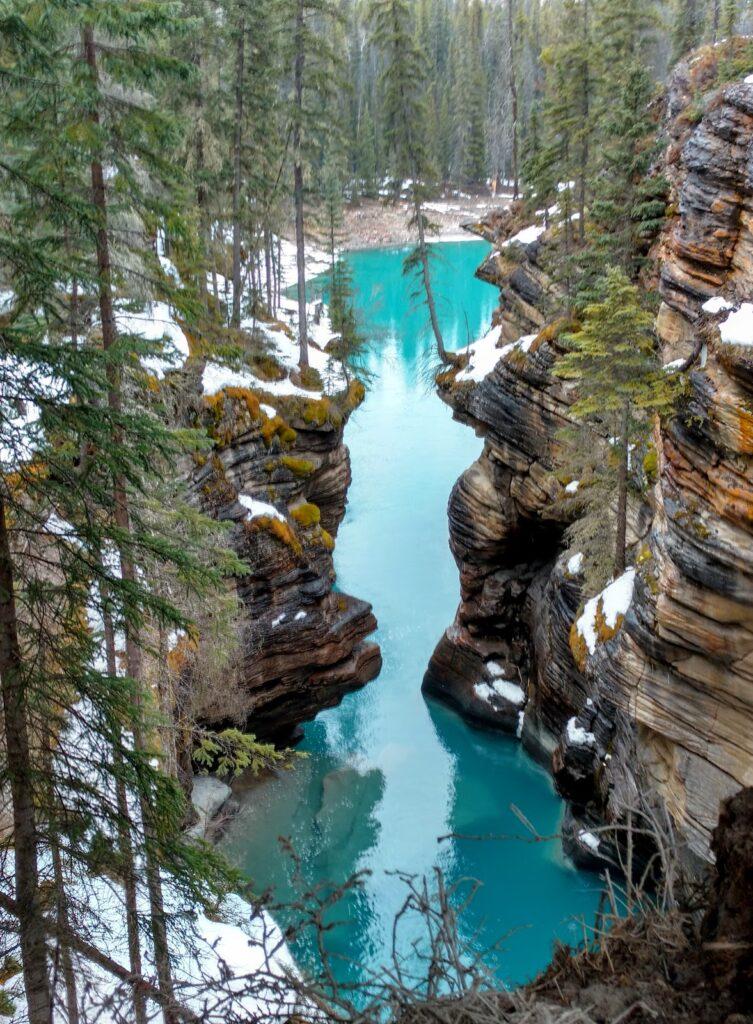 athabasca-falls-jasper-national-park