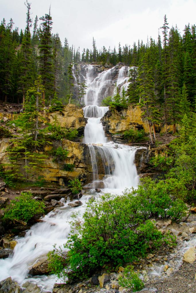tangle-falls-jasper-national-park