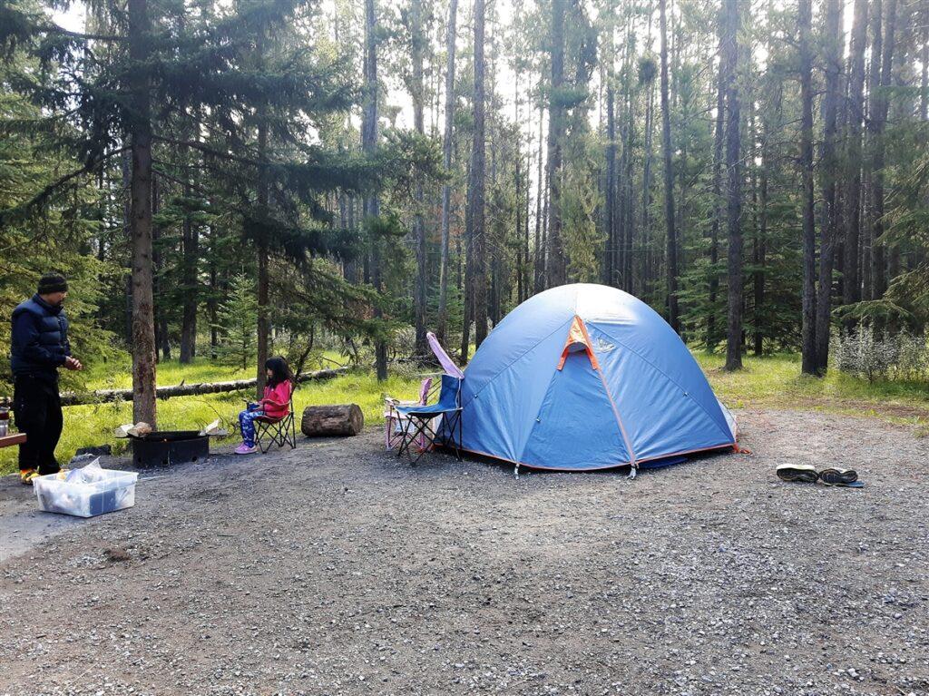 Thomson-Creek-Campground-Alberta