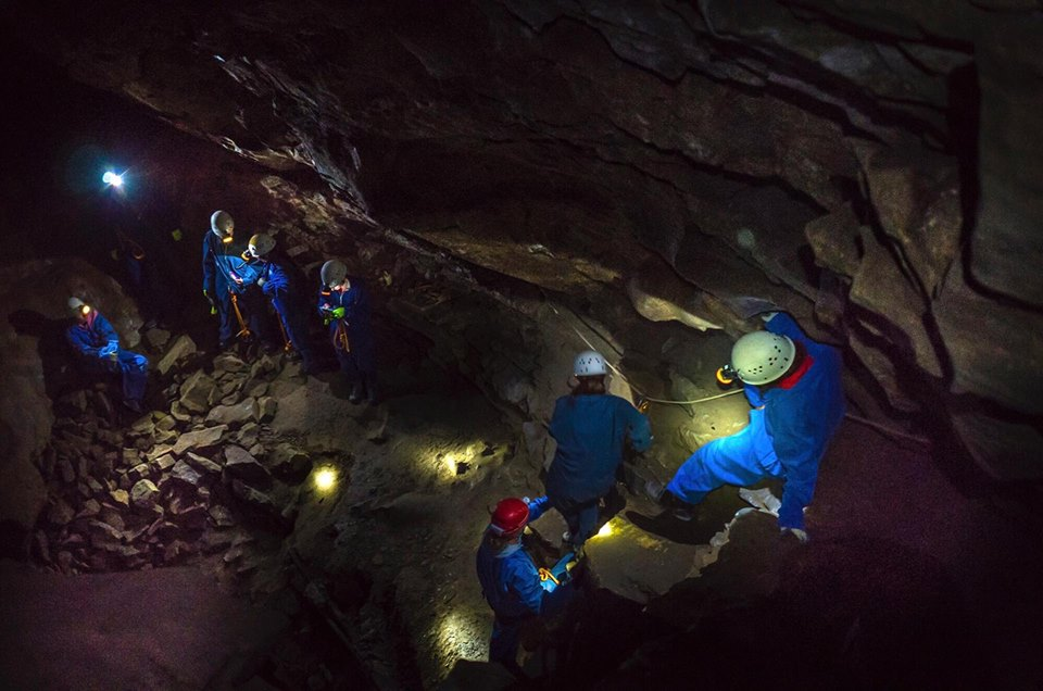 Rat's Nest Cave, Canmore Cave Tours