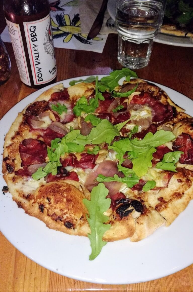 Rocky Mountain Flatbread, Canmore
