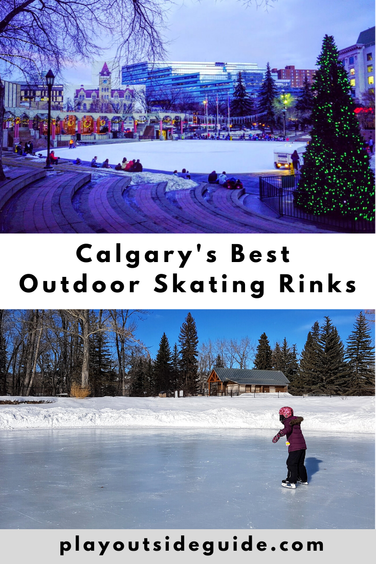 calgarys best outdoor skating rinks