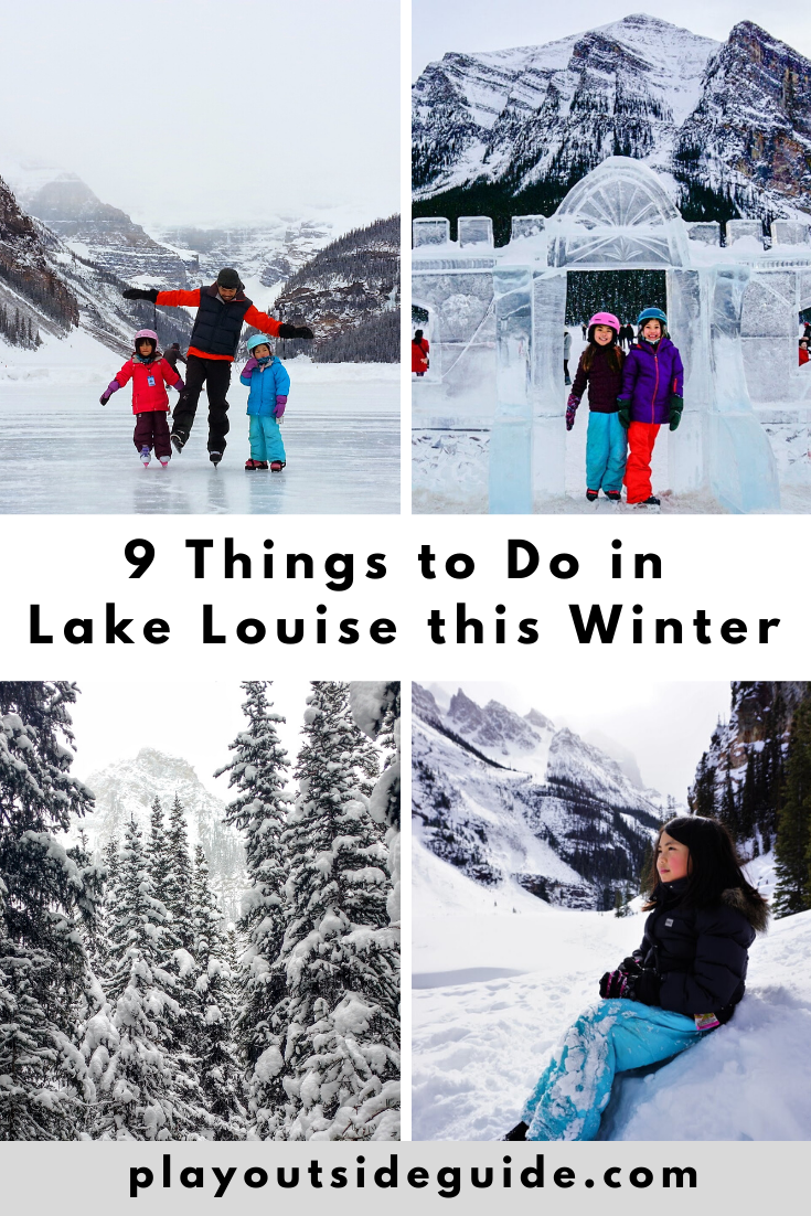 nine things to do in lake louise this winter