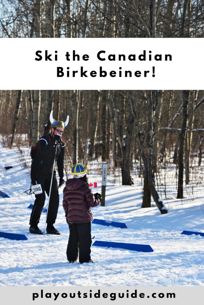 Ski the Canadian Birkebeiner Pinterest pin