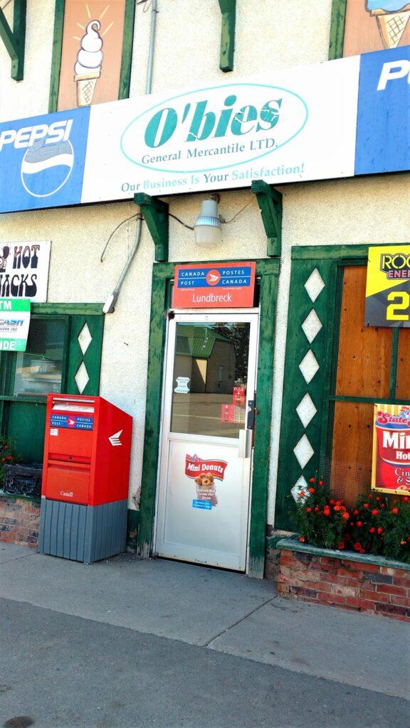O'bies Store Lundbreck