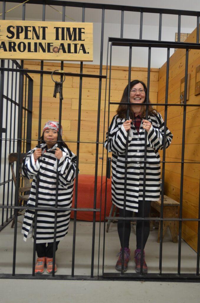 Jail cell, Caroline Museum