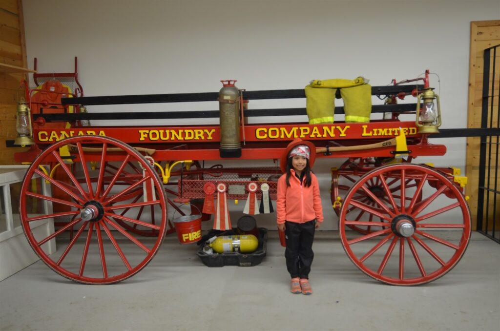 Fire Wagon, Caroline Museum
