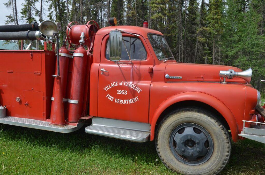 Fire Truck, Caroline Museum