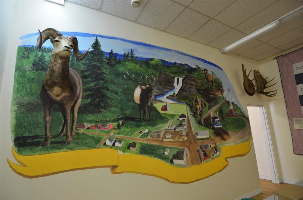 Caroline Museum Mural