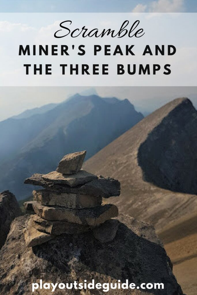 Hike Miner's Peak and the Three Bumps, Canmore, Alberta