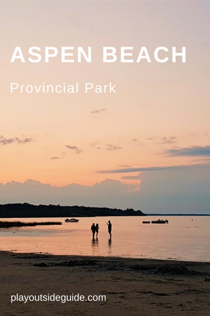 Camping and Beach Fun at Aspen Beach Provincial Park, Alberta