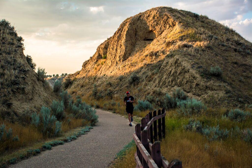 Conquer the Ridge Half Marathon, Medicine Hat 4
