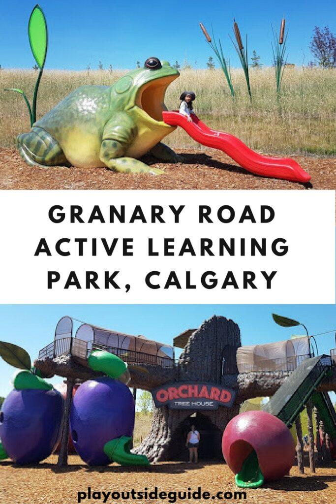 Granary Road Active Learning Park, Calgary