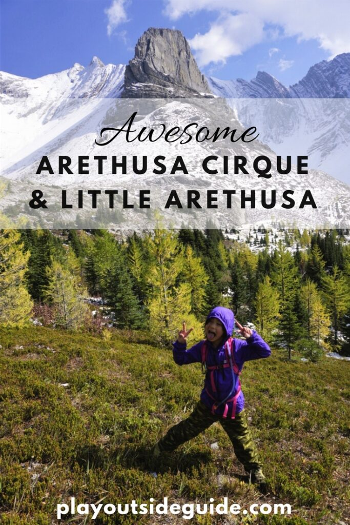Arethusa Cirque and Little Arethusa trails in Kananaskis