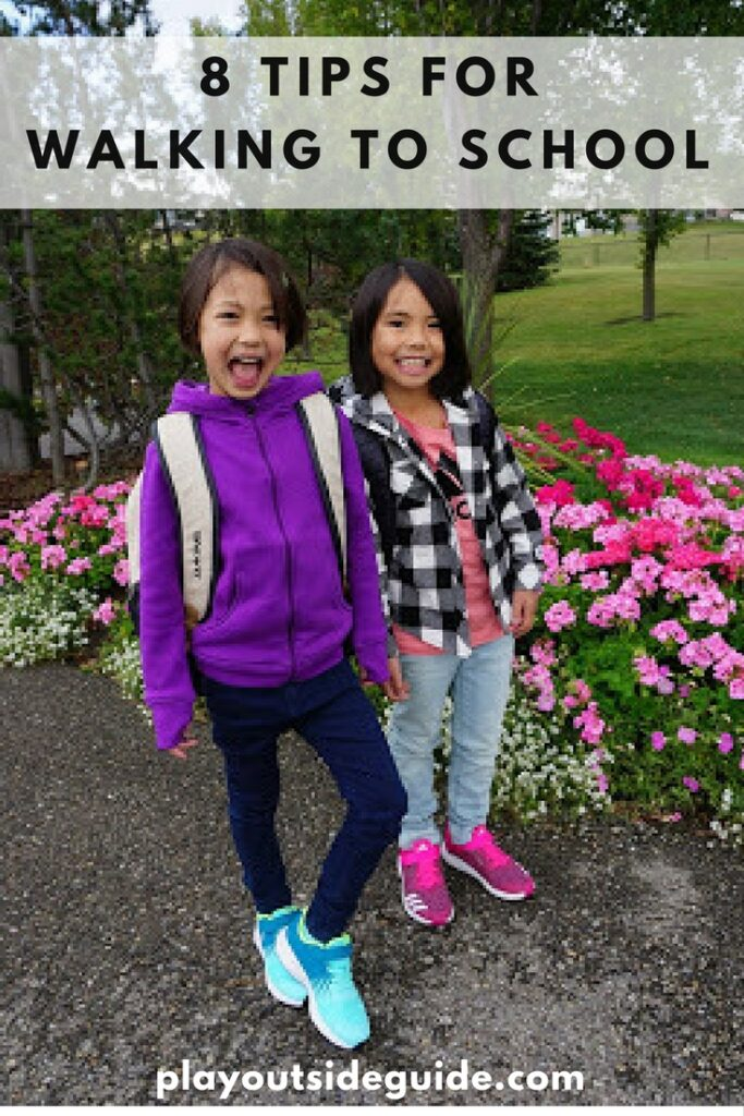Tips for walking to school and sport chek giveaway