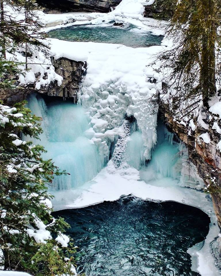 Johnston Canyon Lower Falls, Banff