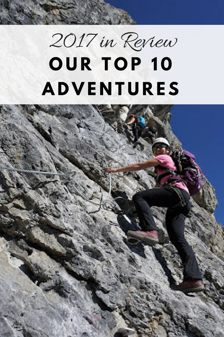 2017 in review, our top 10 adventures