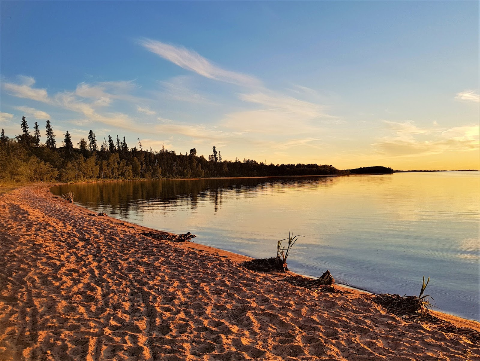 Boardwalk Beach, Sir Winston Churchill Provincial Park