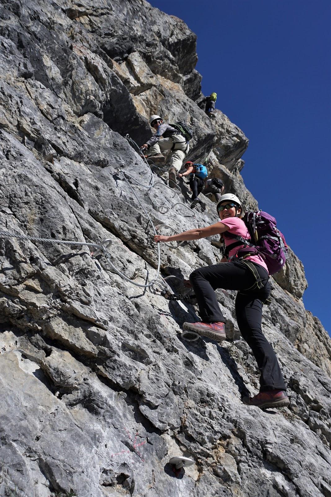 Mount Norquay Via Ferrata