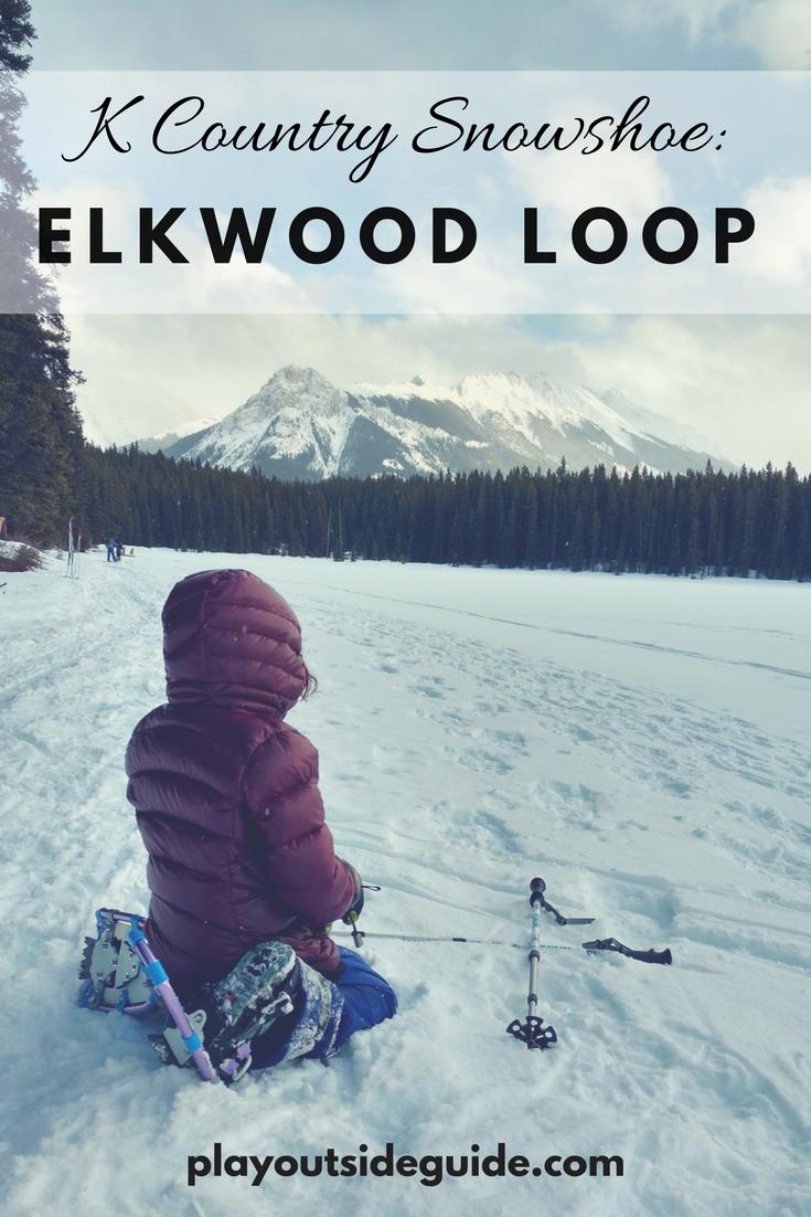 Elkwood Loop Snowshoe Trail, Kananaskis