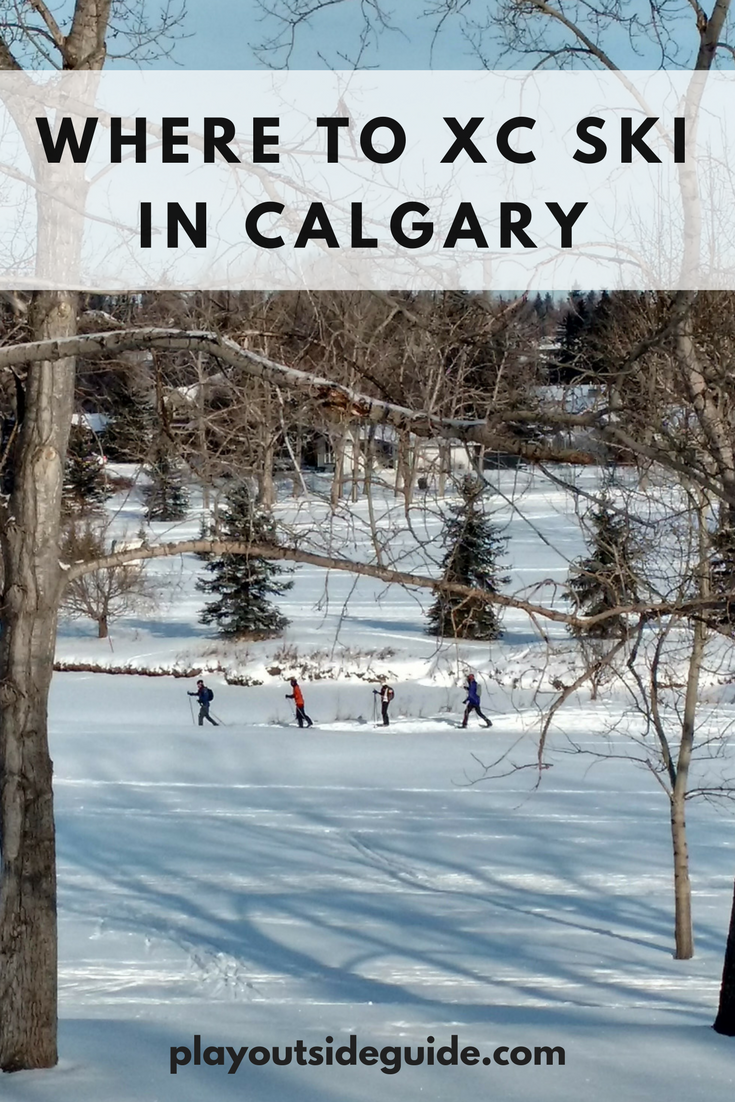 where to cross country ski in calgary