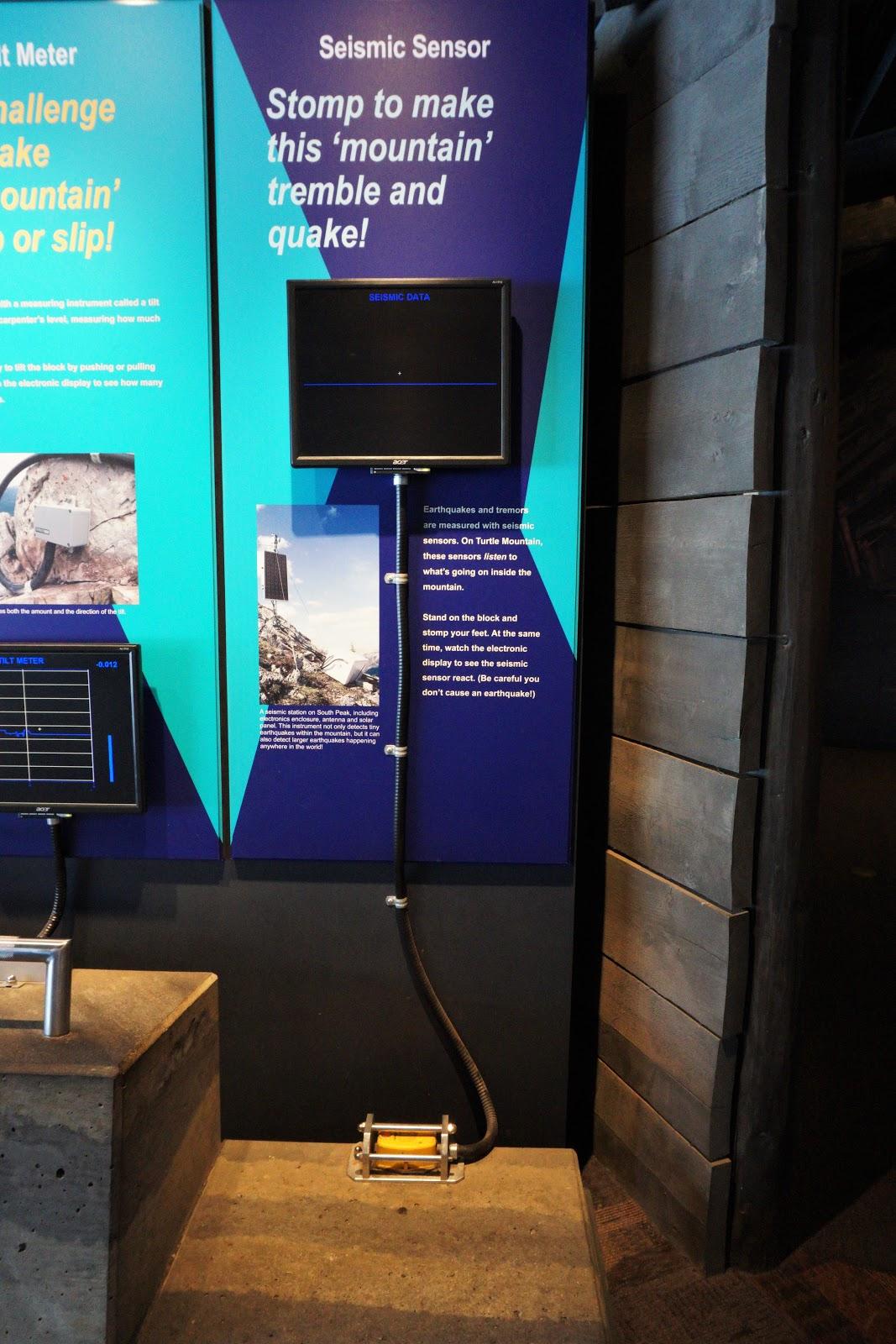 Frank Slide Interpretive Centre Display