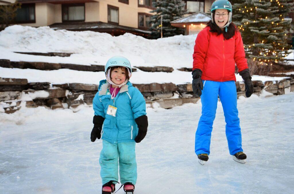 ice-skating-kananaskis-village-pond