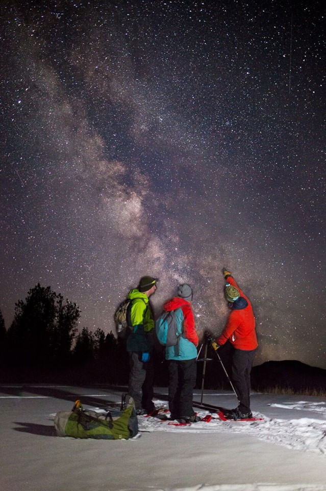 Kananaskis Outfitters Stargazing & Photography Snowshoe Tour