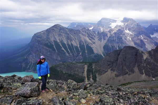 KEEN Terradora Hiking Boots on Mount St. Piran, Banff
