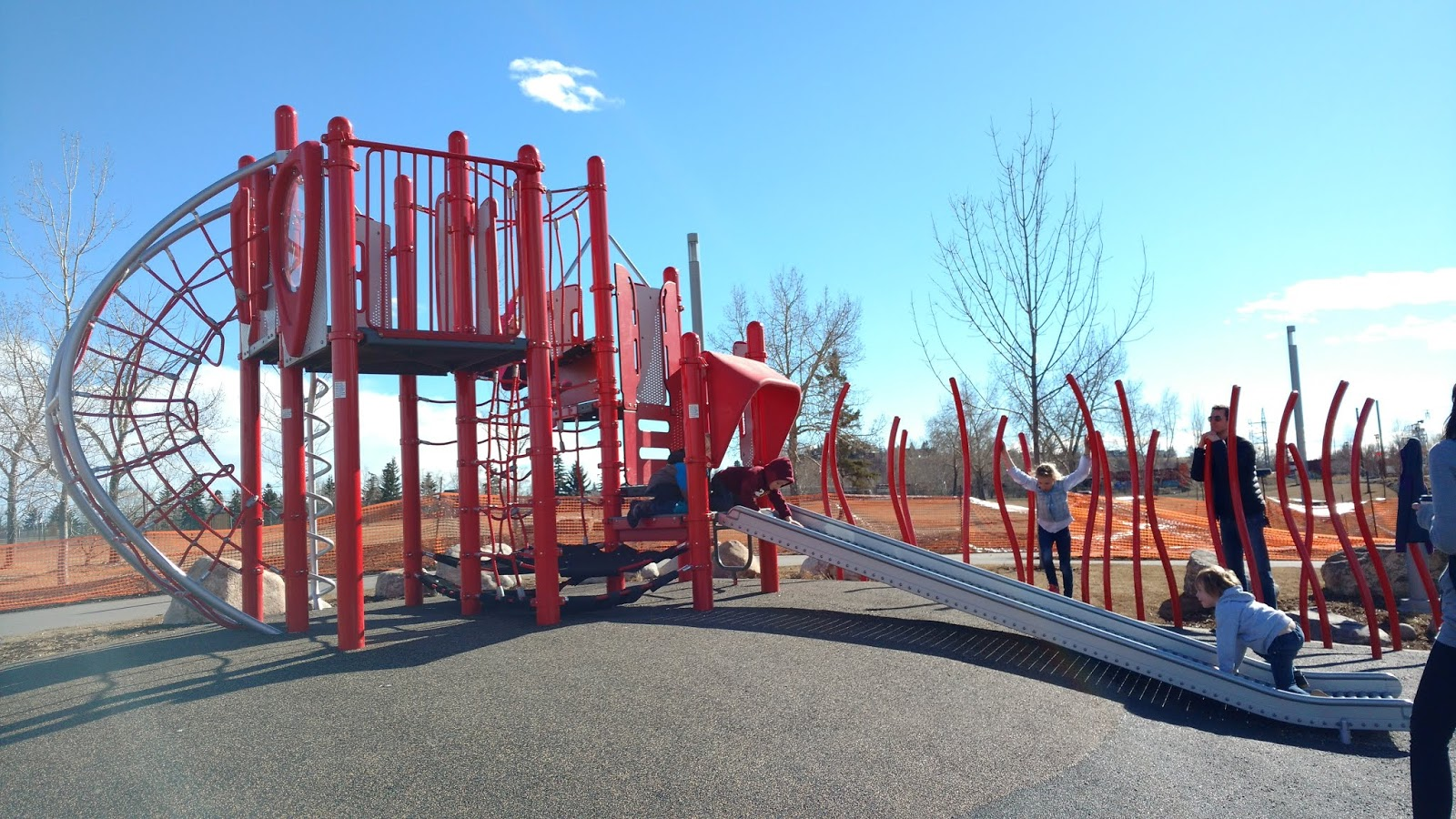 East Village Playground, Calgary