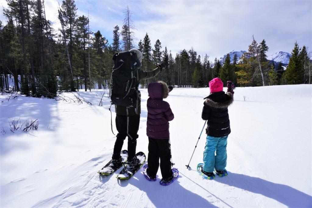 Guided-Snowshoe-Castle-Provincial-Park