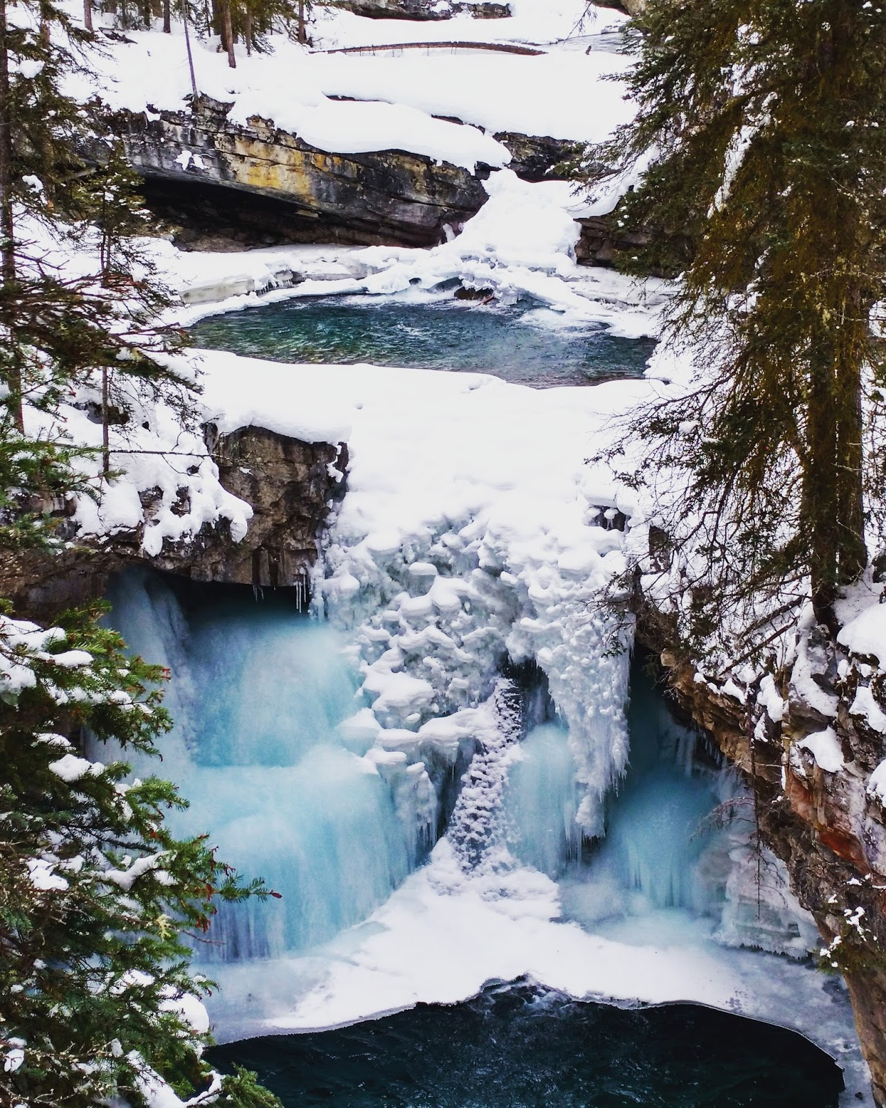 Johnston Canyon Lower Falls Banff