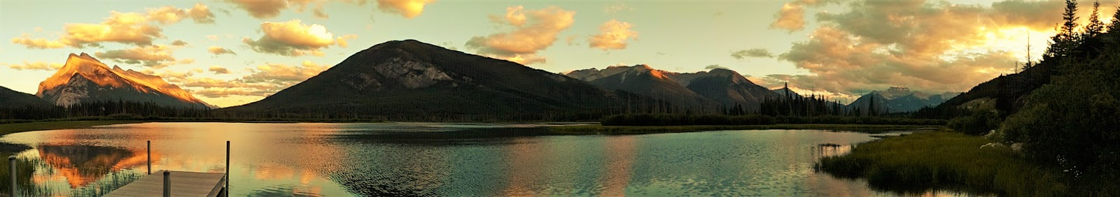 Vermilion Lakes Sunset, Banff