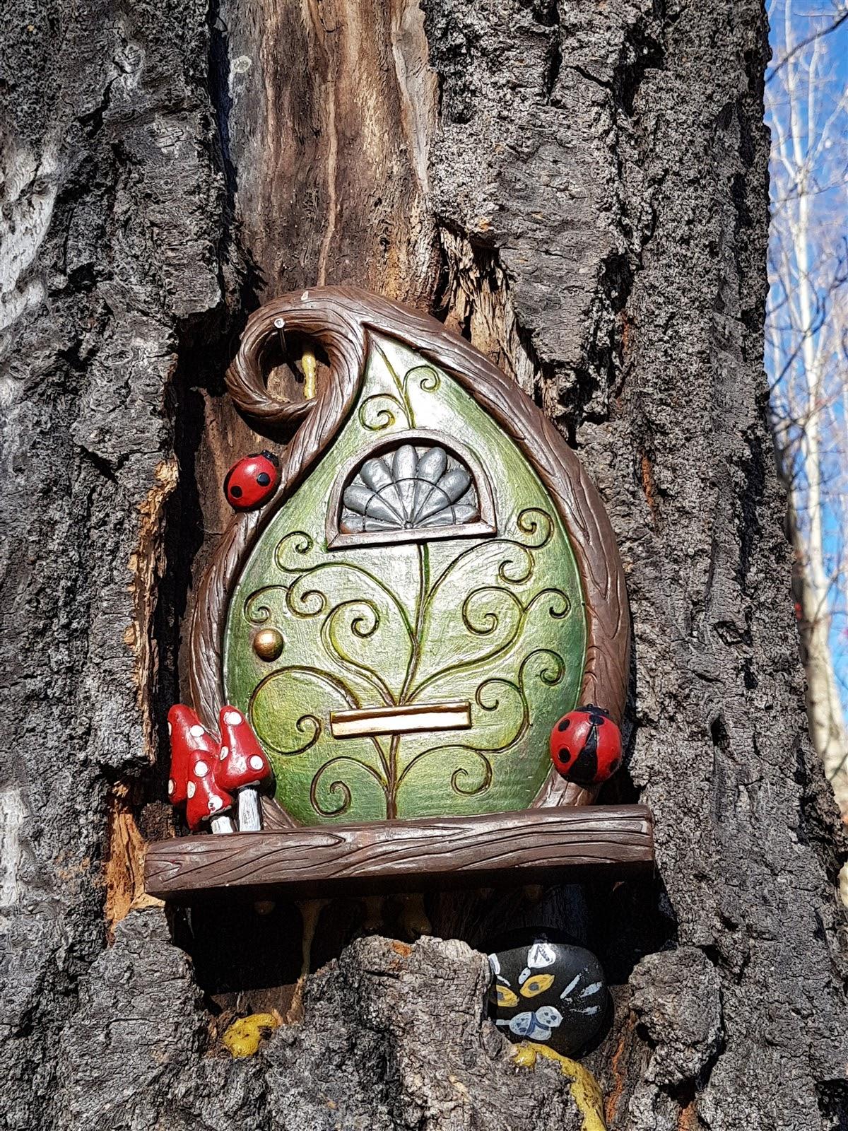 Fairy door at Hawkcliff Park