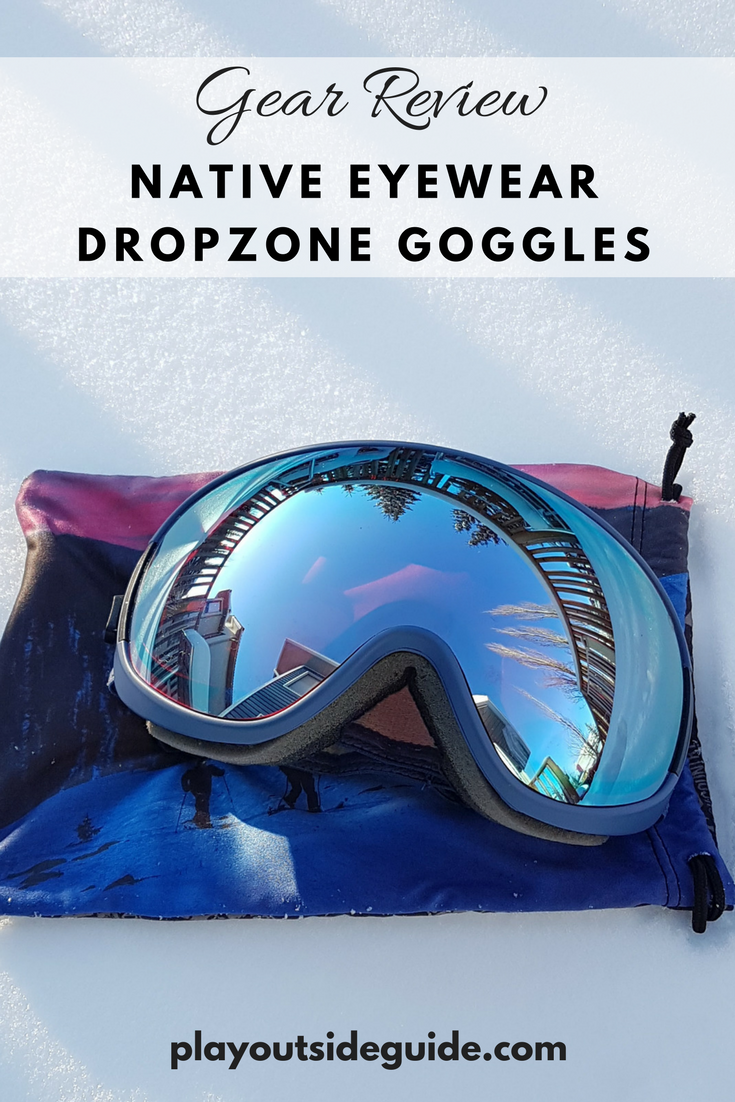 Native Eyewear DropZone Goggles Review