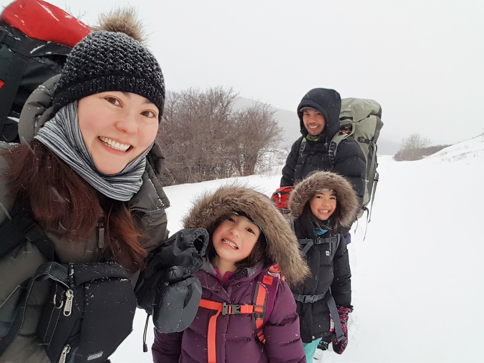 Snowshoeing to Reesor Lake Backcountry Hut, Cypress Hills Provincial Park