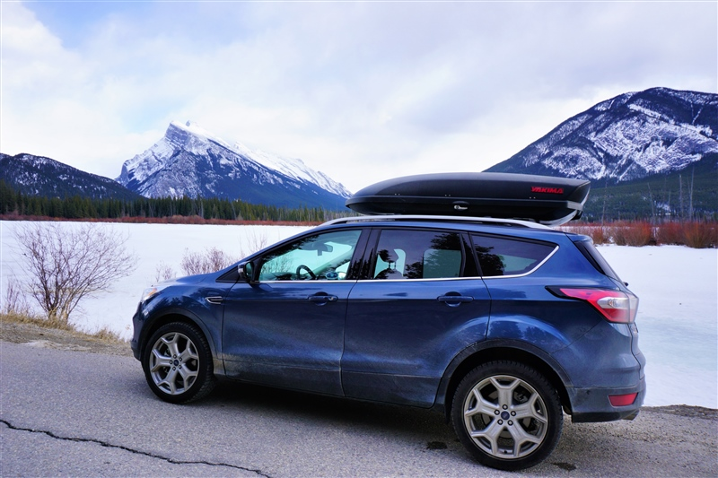 2018 Ford Escape Titanium at Vermilion Lakes, Banff