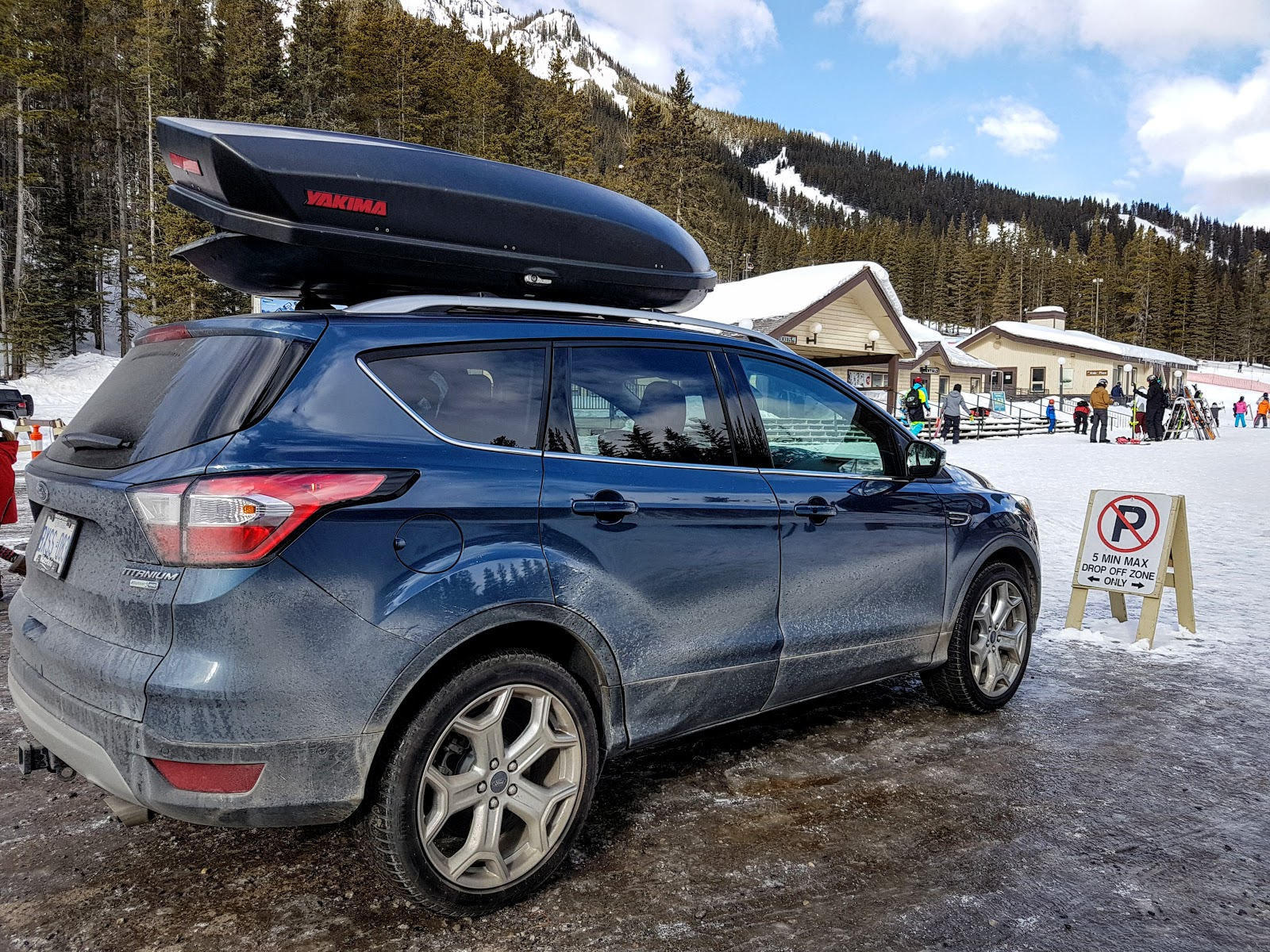 2018 Ford Escape Titanium at Mount Norquay