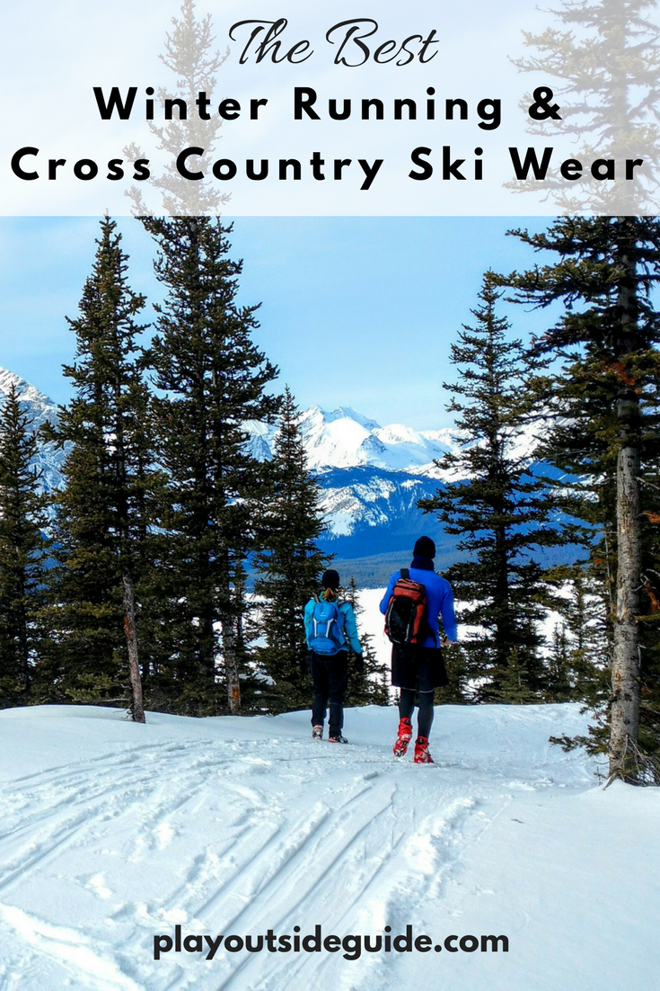The best winter running and cross country ski wear