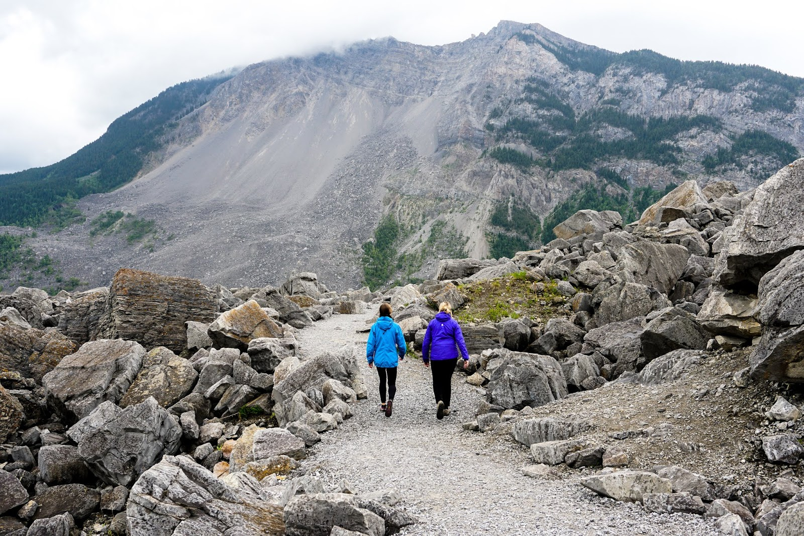Frank Slide Interpretive Trail