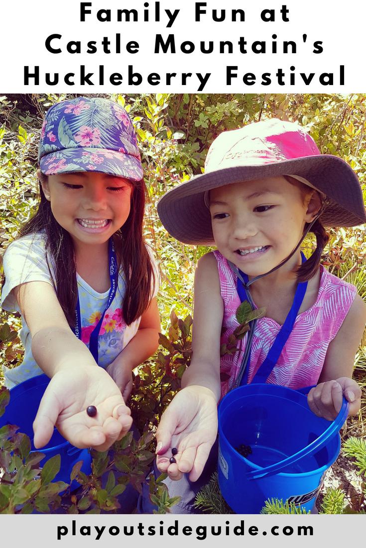 Family fun at Castle Mountain's Huckleberry Festival