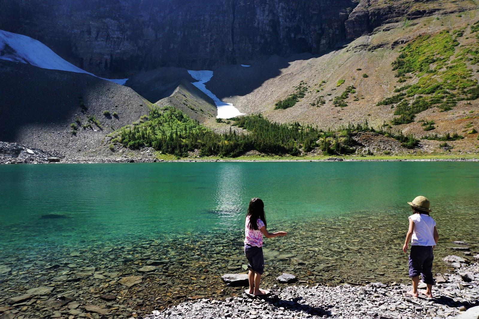 Haig Lake, Castle Mountain Resort