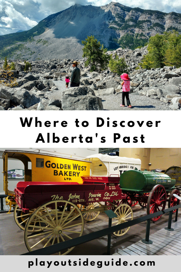 Where to discover Alberta's past
