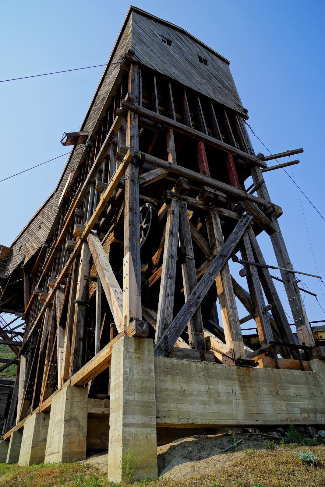 Canada's last tipple - at Atlas Coal Mine National Historic Site