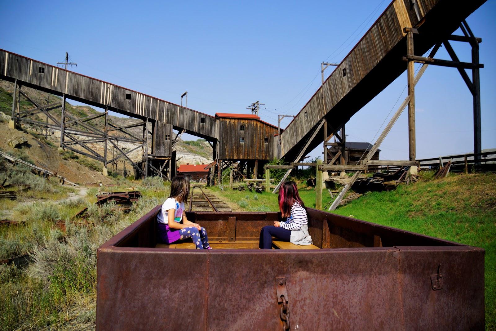 Atlas Coal Mine Train Tour, East Coulee