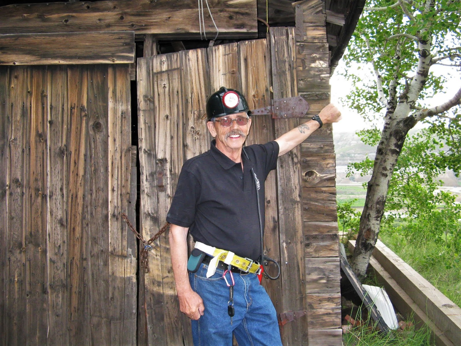Bob Moffatt, fifth generation coal miner