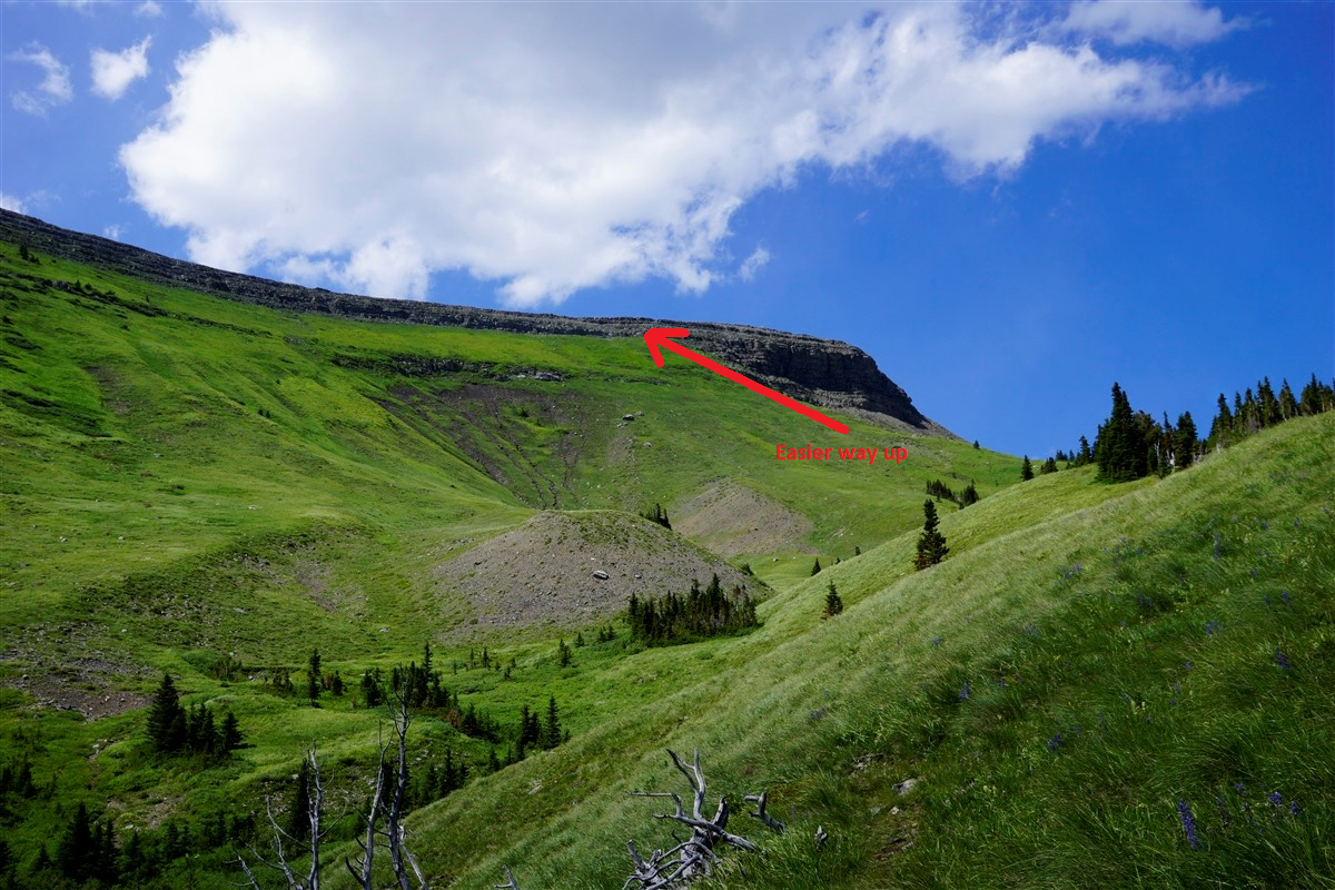Hailstone Butte Scramble Route